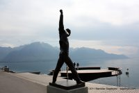 The Freddie Mercury Statue in Montreux